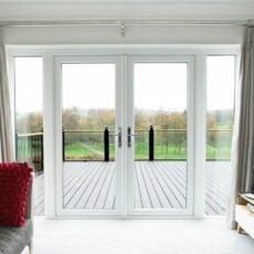 uPVC Double Glazed French Doors: