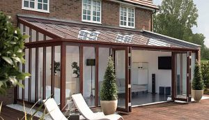 fully fitted Lean to conservatory?